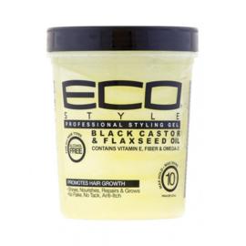 Eco Styler Black Castor & Flaxeed Oil Styling Gel 946 Ml