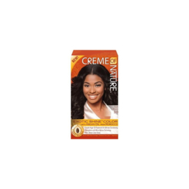 Creme Of Nature Exotic Shine Color With Argan Oil 3.0 Soft Black