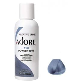Adore Semi Permanent Hair Color 198 Powder Blue 118 ml