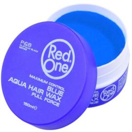 Red One Aqua Blue Hair wax 150 ml ( Fresh bubble gum scent )