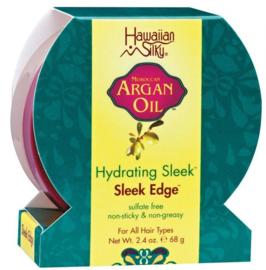 Hawaain Silky Argan Oil Sleek Edge 2.4oz.