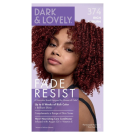 Dark & Lovely Fade Resist Rich Auburn Rich Conditioning Color 374