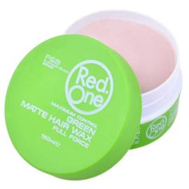 Red one Green Matte Hair Wax 150 ml ( Caribbean fragrance )
