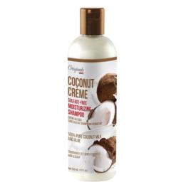 Africa's Best Coconut Creme Sulfate Free Moisturizing Shampoo 12 oz