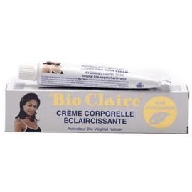 Bio Claire Lightening Body Cream tube 30g