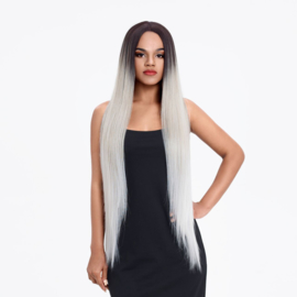 """Sleek Synthetic Wigs 101 Front Lace Wig - LIMA 38"""" Inch"""