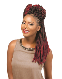 """Sensationnel African Collection Soft Faux Locks 14"""" (pre-looped)"""