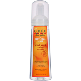 Cantu Shea Butter Natural Wave Whip Curl Mousse 8.4oz