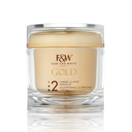 Fair & White Gold Ultimate Exceptional Clarifying Cream Even Tone 200 ml