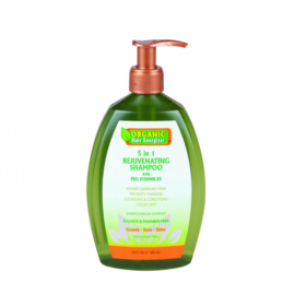 Organic Hair Energizer 5 in 1 Rejuvenating Shampoo 385 ml