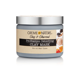 Creme of Nature Clay & Charcoal Pre-Shampoo Detoxifying Clay Mask 326 gr