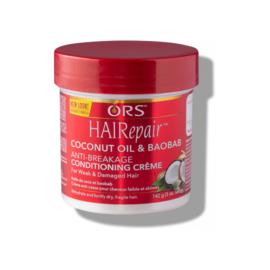 ORS Hairepair Coconut Oil & Baobab Anti-Breakage Creme 142gr