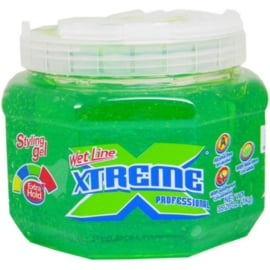Wet Line Xtreme Professional Styling Gel Extra Hold Green, 35.6 Oz / 1 Kg