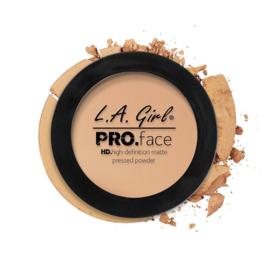 LA Girl HD Pro Face Pressed Powder GPP605 Nude Beige