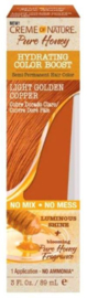 Creme Of Nature Pure Honey Color Boost Light Golden Copper 3 Ounce (89ml)