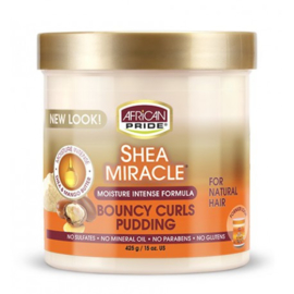 African Pride Shea Miracle Bouncy Curls Pudding 15 oz
