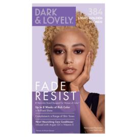 Dark & Lovely Fade Resist Light Golden Blonde Rich Conditioning Color 384