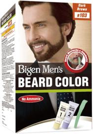 BIGEN MEN'S BEARD COLOR #103 DARK BROWN