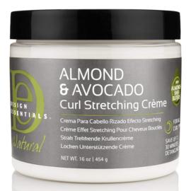 Design Essentials Almond & Avocado Curl Stretching Cream 454 Gr