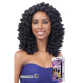 FreeTress Equal Synthetic Hair Lace Front Wig Lace Deep Invisible L Part Bubble Wand