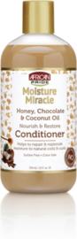 African Pride Moisture Miracle Honey, Chocoloate & Coconut Oil Conditioner 354 mL