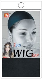 Wig Cap - Black ( 2pcs )