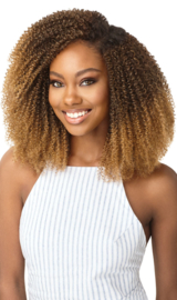 """Outre Human Hair Premium Blend Clip-In Big Beautiful Hair 4C Coily Fro 10"""""""