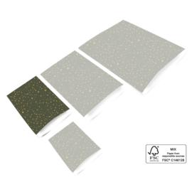 Cadeauzakjes | Galaxy Green 12 x 19 cm