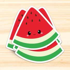 Sticker XL   Watermeloen