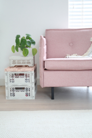 Vouwkratje Small | Baby Pink
