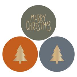 Stickers | Multi Kerstboom
