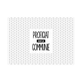 Communie | Bollen