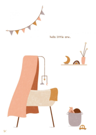 Hello little one - pink