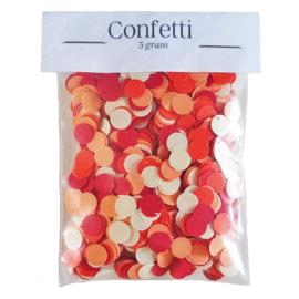 Confetti - Rood