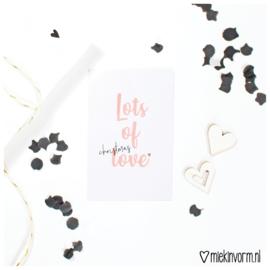 Mini-Kaart | Lots of Christmas Love