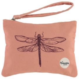 Dragonfly vintage pink | Medium