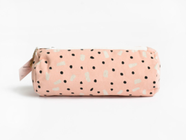 Etui Pink dots