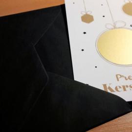 Zwarte Luxe Envelop
