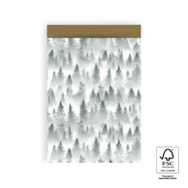 Cadeauzakjes | Forest Gold 17 x 25 cm