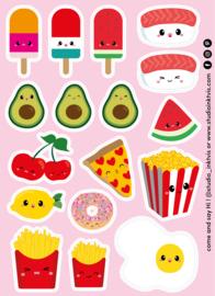 Stickervel | Food