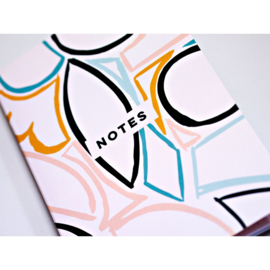 Pastel Shapes Notebook