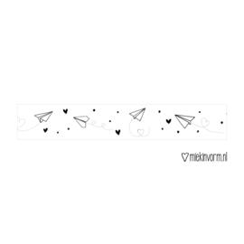 Washi tape | Vliegtuigjes