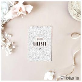Mini-kaart | Voor de liefste
