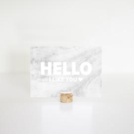 HELLO I like you