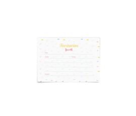 Sprinkle Party Invitations
