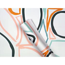 Inpakpapier | Pastel Swipes