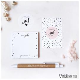 Cadeauset juf | Post-its