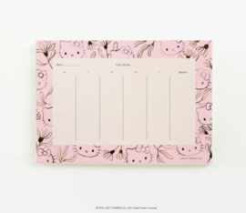 Weekly Planner | Hello Kitty