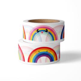 Washi tape | Regenboog