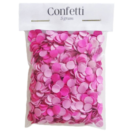 Confetti - Roze
